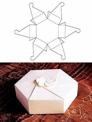 Коробочка своими руками из бумаги