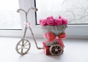 Подарок из цветов