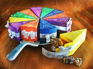 Прикольные подарки из картона или бумаги