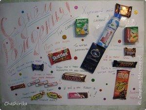 Плакаты из сладостей ВКонтакте
